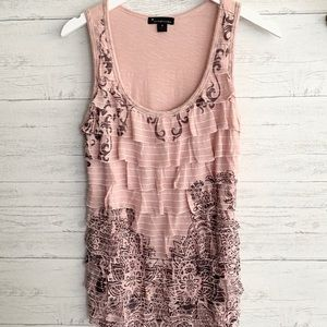 Forever 21 Ruffle Tank Top